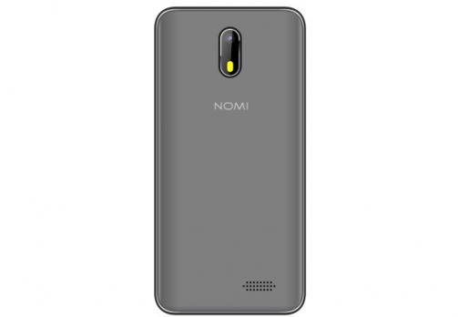 БУ Смартфон Nomi i4500 Beat M1 512Mb/1Gb Grey Grade B1